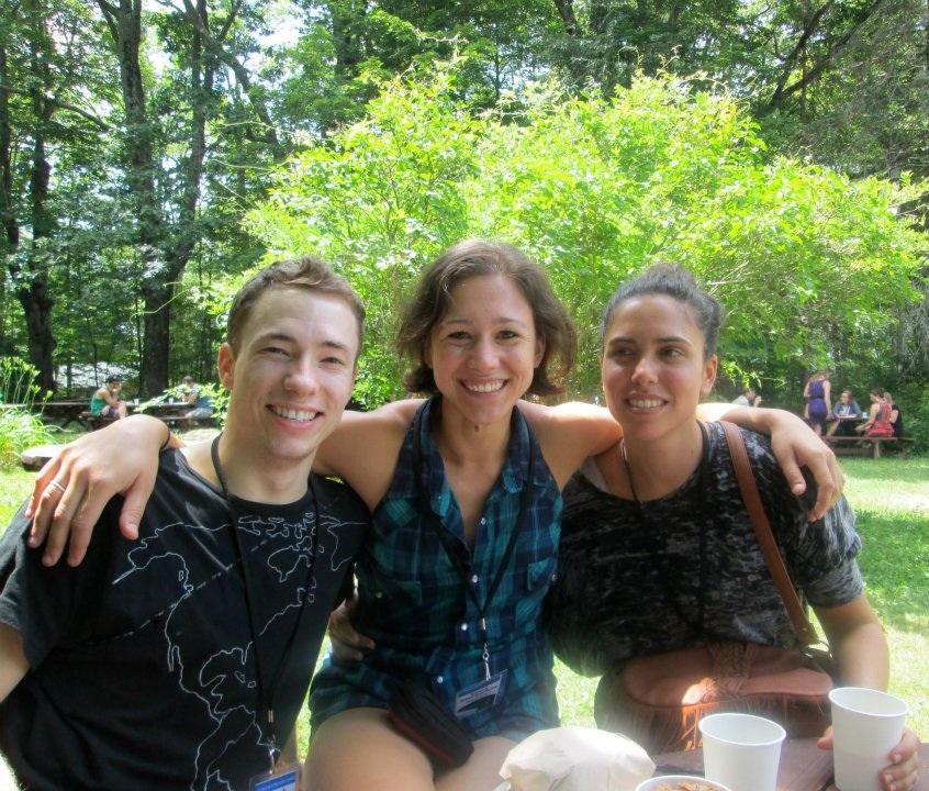 Derek Crescenti, Stacy Martorana and Courtney Baron
